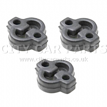 3 X Bedford Rascal 1.0 Models 1986 To 1993 Exhaust Rubber Centre Mount
